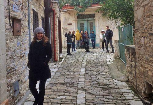 תנועה והרפיה בהרי קפריסין