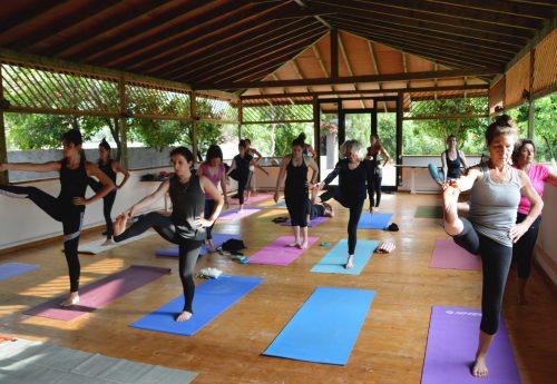 חופשת יוגה יוונית בשבועות