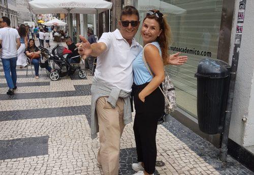 יוגה ופילאטיס עם רינת ונעמה בפורטוגל