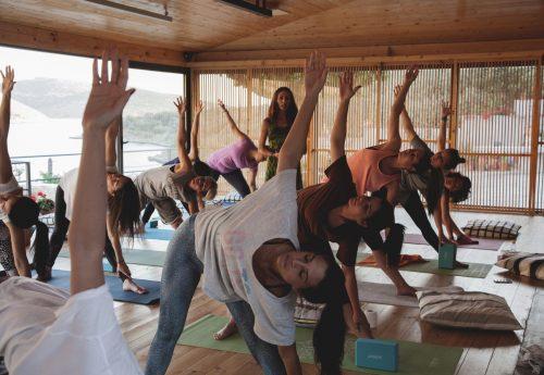 סדנת יוגה וניקוי ביוון