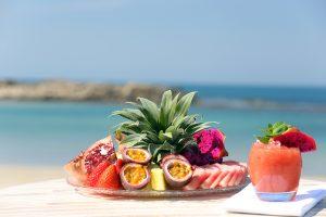 צלחת פירות חוף נחשולים