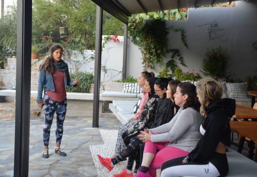 יוגה, פילאטיס וצלילים מרפאים בבית אורן