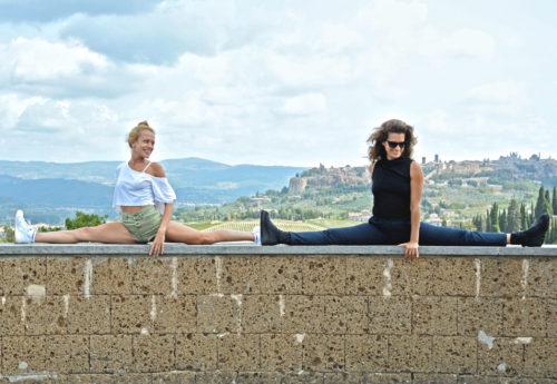 סדנת יוגה באמירי הגליל עם לירון מיכאלי